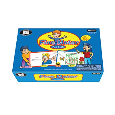 Super Duper Publications | Fine Motor Fun Deck | Hand Exercises and Prewriting Skills Flash Cards | Educational Learning Materials for Children: Cecile Cyrul Spector: Toys & Games