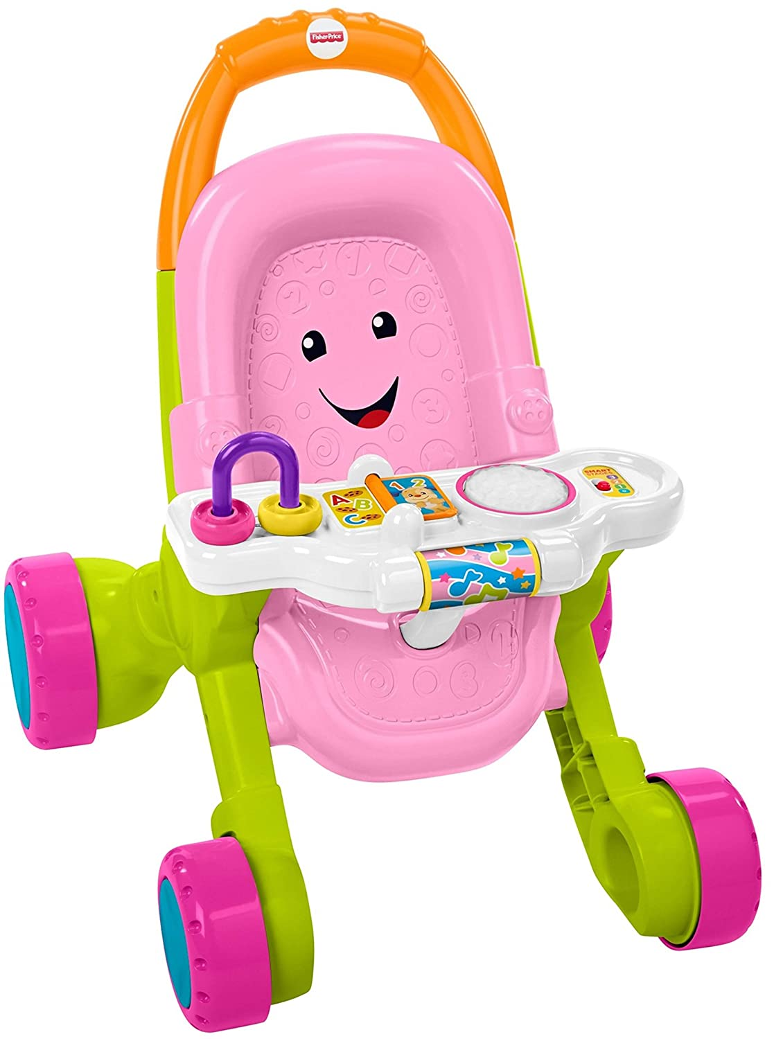 Fisher-Price Stroll & Learn Walker, Yellow