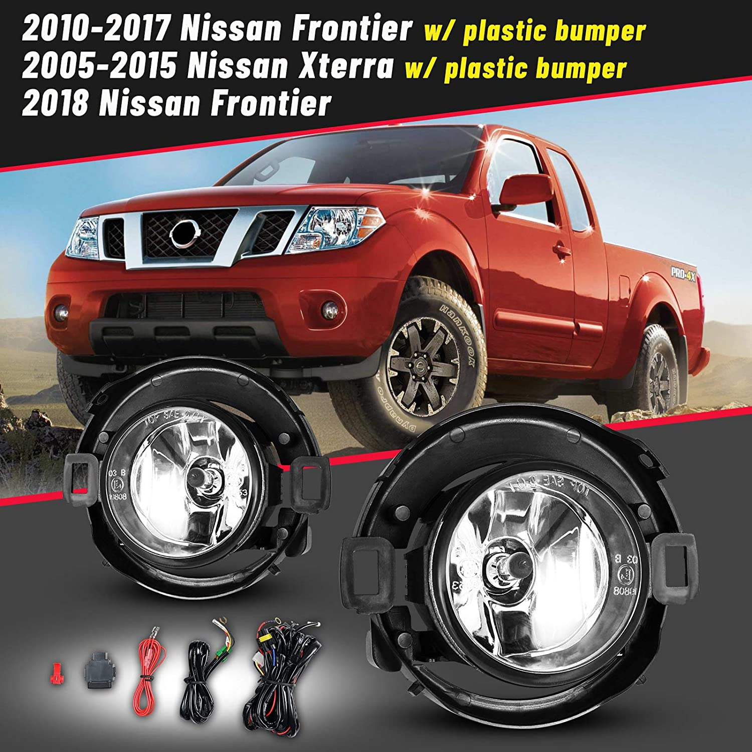 OE Replacement Fog Light Assembly NISSAN FRONTIER PICKUP