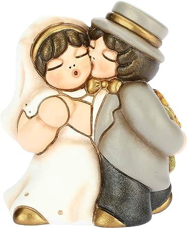 Bomboniere Matrimonio Thun.Thun Coppia Sposini Classica Bacio Cerimonia Bomboniere