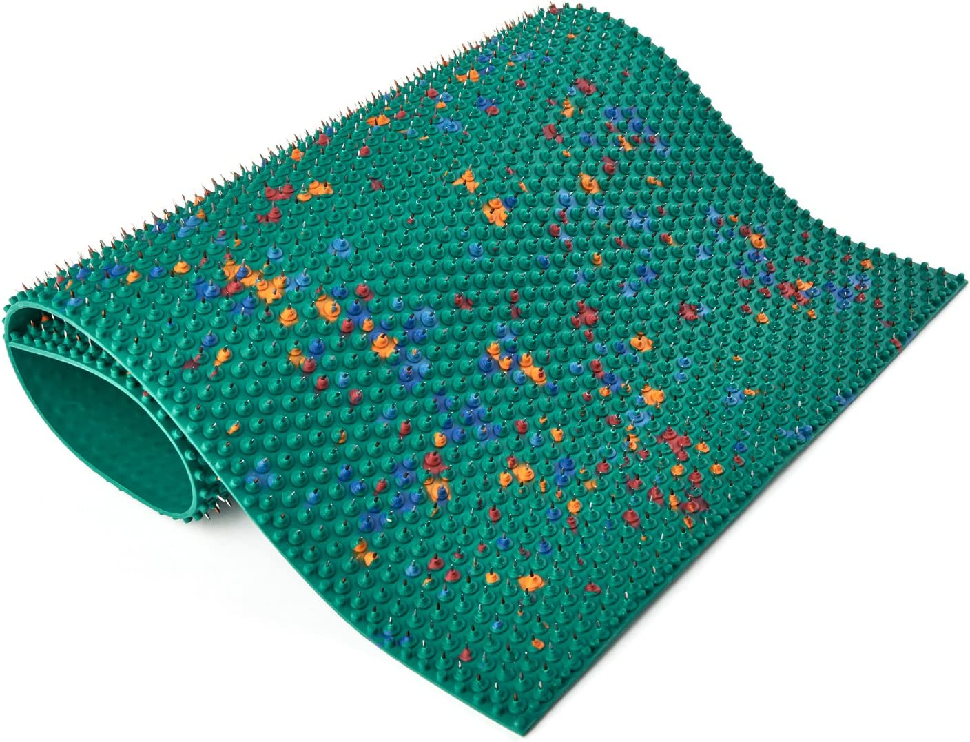 LYAPKO Acupuncture Mat Big Pad 7.0 Ag 2710 Needles. Unique Massager Active Applicator for the Relief of Pain & Stress. Premium Acupressure Patented Therapy Massage Tool