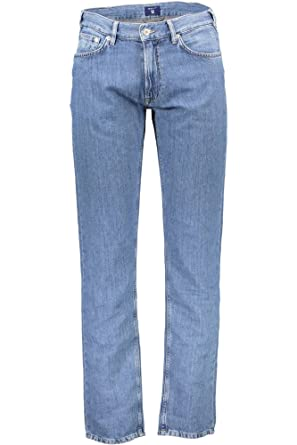 GANT Herren Gerade Jeans Regular: : Bekleidung