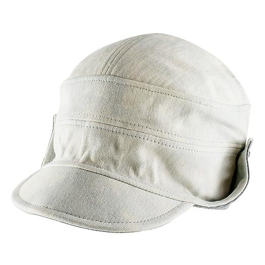 1b18e6842fb Morehats Tie Dye Floppy Short Brim Baseball Cap Aviator Trapper Hat - Baby  Blue
