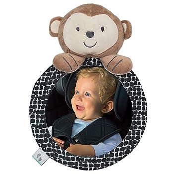 Autospiegel Tier Bär Rücksitzspiegel für Babys Set Baby Autospiegel