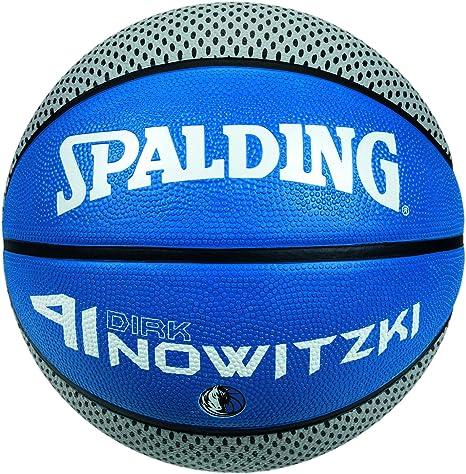 Spalding Player Ball - Balón de baloncesto, diseño de Dirk ...