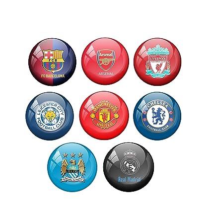 Buy AVI Pin Badges with FCB Premier League Badge Design