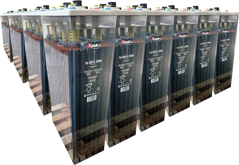 Bateria Solar, 16 OPZS 2000 24V Mas de 20 años de Vida