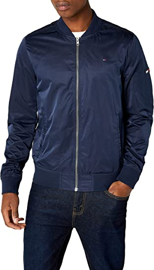Tommy Hilfiger Essential Straight Bomber Chaqueta para Hombre