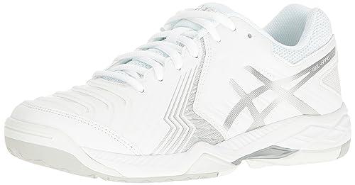 aa9a59fc668e4 ASICS Women s Gel-Game 6 Tennis Shoe White  Amazon.co.uk  Shoes   Bags