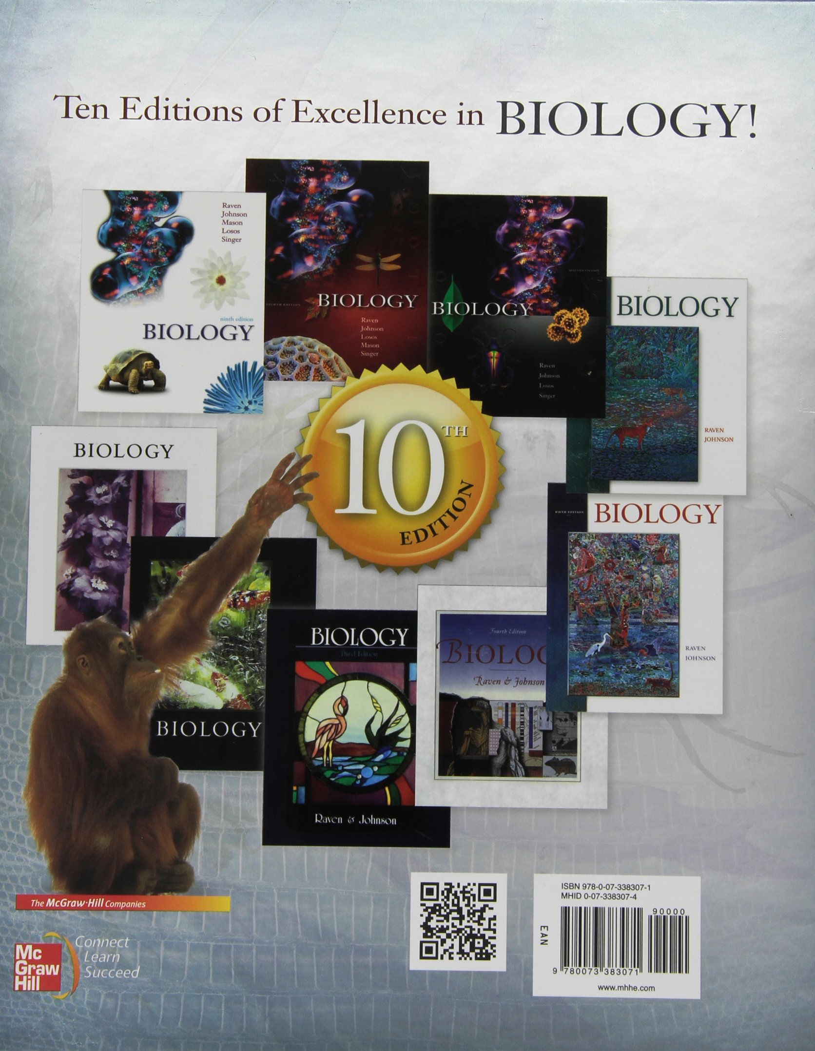 Biology amazon peter h raven george b johnson kenneth a biology amazon peter h raven george b johnson kenneth a mason jonathan losos susan singer 9780073383071 books fandeluxe Image collections