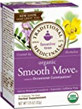 2 Savers Package:Traditional Medicinals Smooth Move Herb Tea (3x16 Bag)