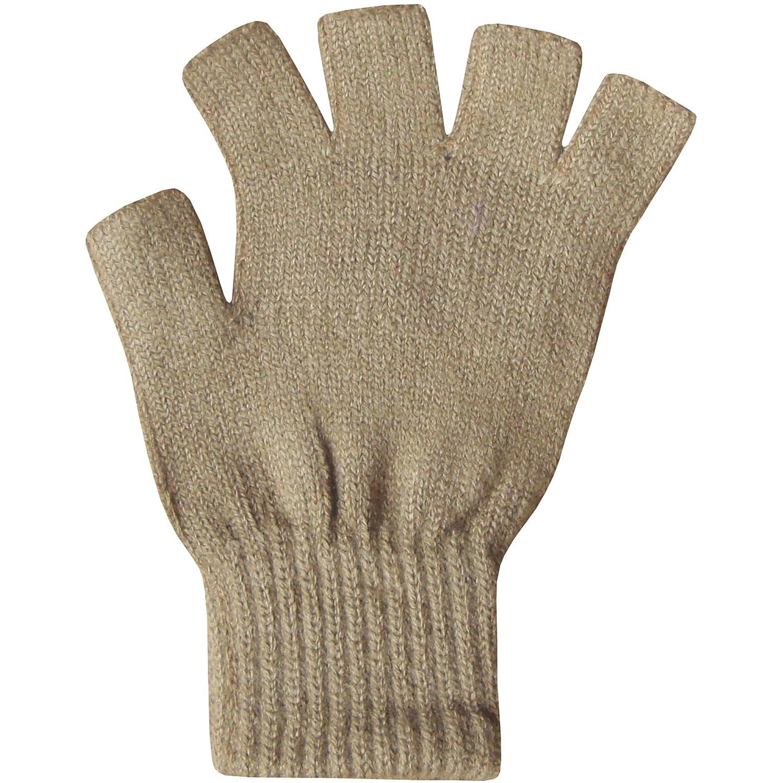 Fingerless gloves for musicians - Ladies Super Soft Warm Fine Knit Thermal Fingerless Winter Gloves