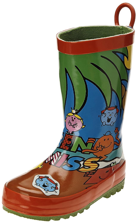 Be only Mr mme beach - Botas de agua infantil, color multicolor, talla 28