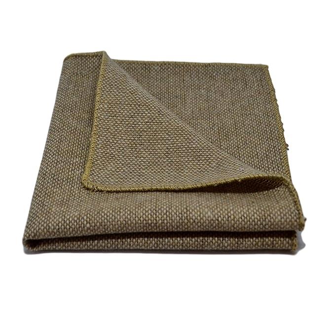 Pajarita marrón claro en una tela tejida lavada a piedra, Corbatín
