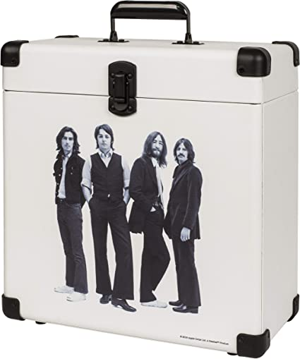 Crosley Cr401 Be Record Carrier Case For 30 Albums The Beatles Amazon Ca Electronics