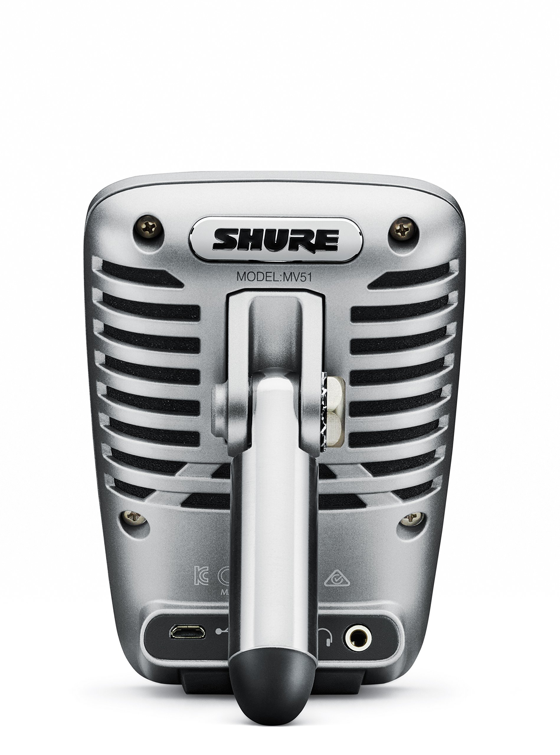 Shure MV51 Digital Large-Diaphragm Condenser Microphone + USB & Lightning Cable by Shure (Image #2)