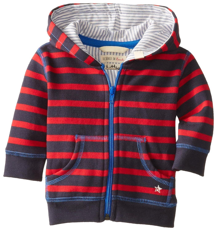 Hatley Baby Boys 0-24m Infant Cinders Striped Track Jacket SWBSTRI026