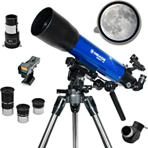Meade Instruments – Infinity 102mm Aperture, Portable Refracting Astronomy Telescope for Beginners – See the Moon & Planets – Science STEM Activities for Kids & Adults – Multiple Accessories Included