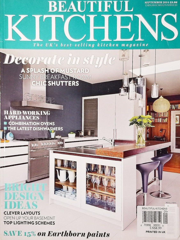 Amazon Com Beautiful Kitchens September 2014 The Uk S Best Selling Kitchen Magazine Everything Else