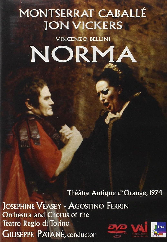 Norma (Bellini) - Caballe, Vickers [Reino Unido] [DVD]