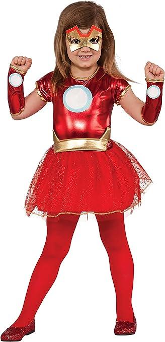 Rubie/'s Costume Co Superhero Tutu Dress Child Captain America Red Large
