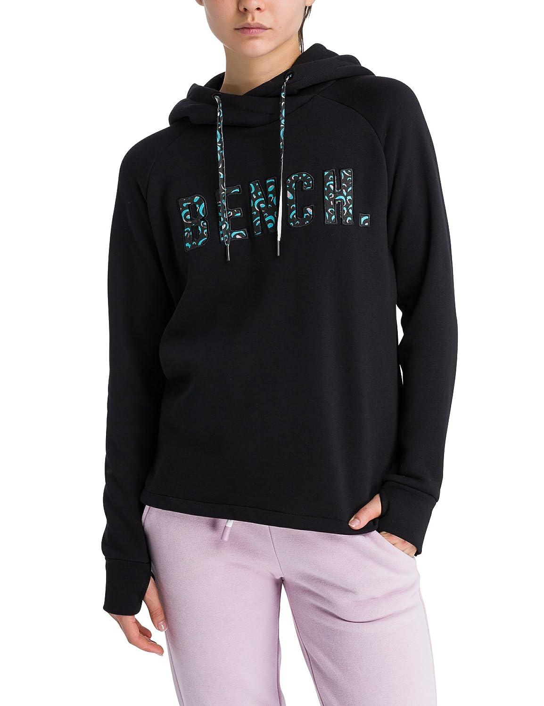 TALLA L. Bench Logo Hoody, Capucha para Mujer
