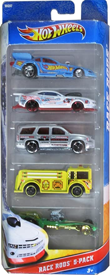 Hot Wheels Hot Rods 5 Pack Excellent Condition Mattel