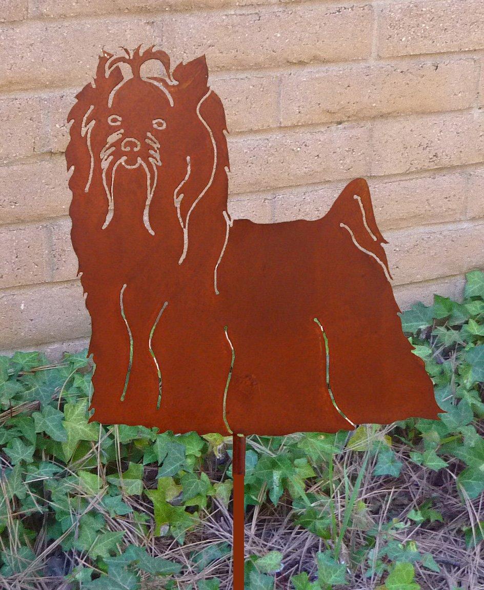 Amazon.com: Acero Haute Yorkshire Terrier metal perro Juego ...