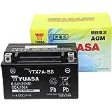 【Amazon.co.jp限定】 TAIWAN YUASA 【台湾ユアサ】正規品 AGM-バイク用バッテリー クロス付 YTX7A-BS