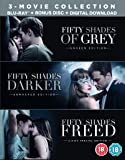 Fifty Shades Freed 3-Movie Boxset (Blu-Ray + Bonus Disc) UK IMPORT REGION B BLU RAY
