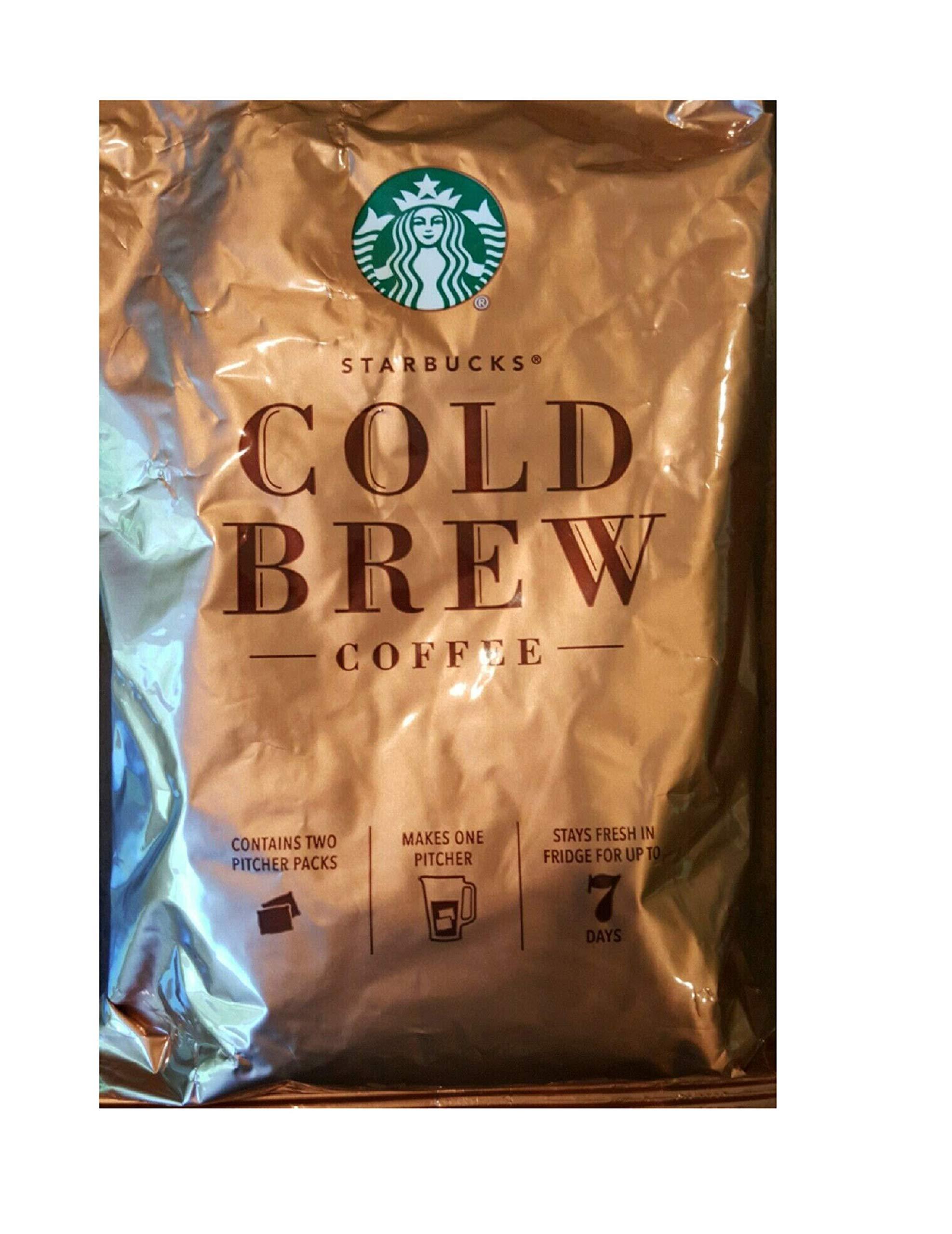 Starbucks Cold Brew Coffee, Medium Roast Coffee, 8.6 Oz. (Makes 10 Pitchers)