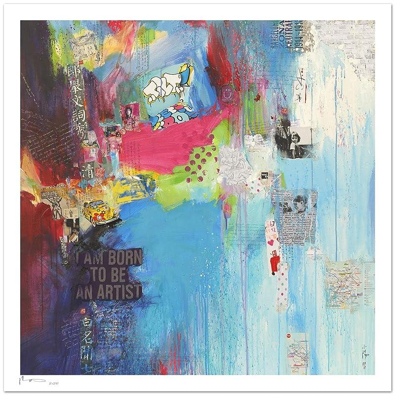 Reproducción de arte - Born to be an artist I - sobre papel de ...