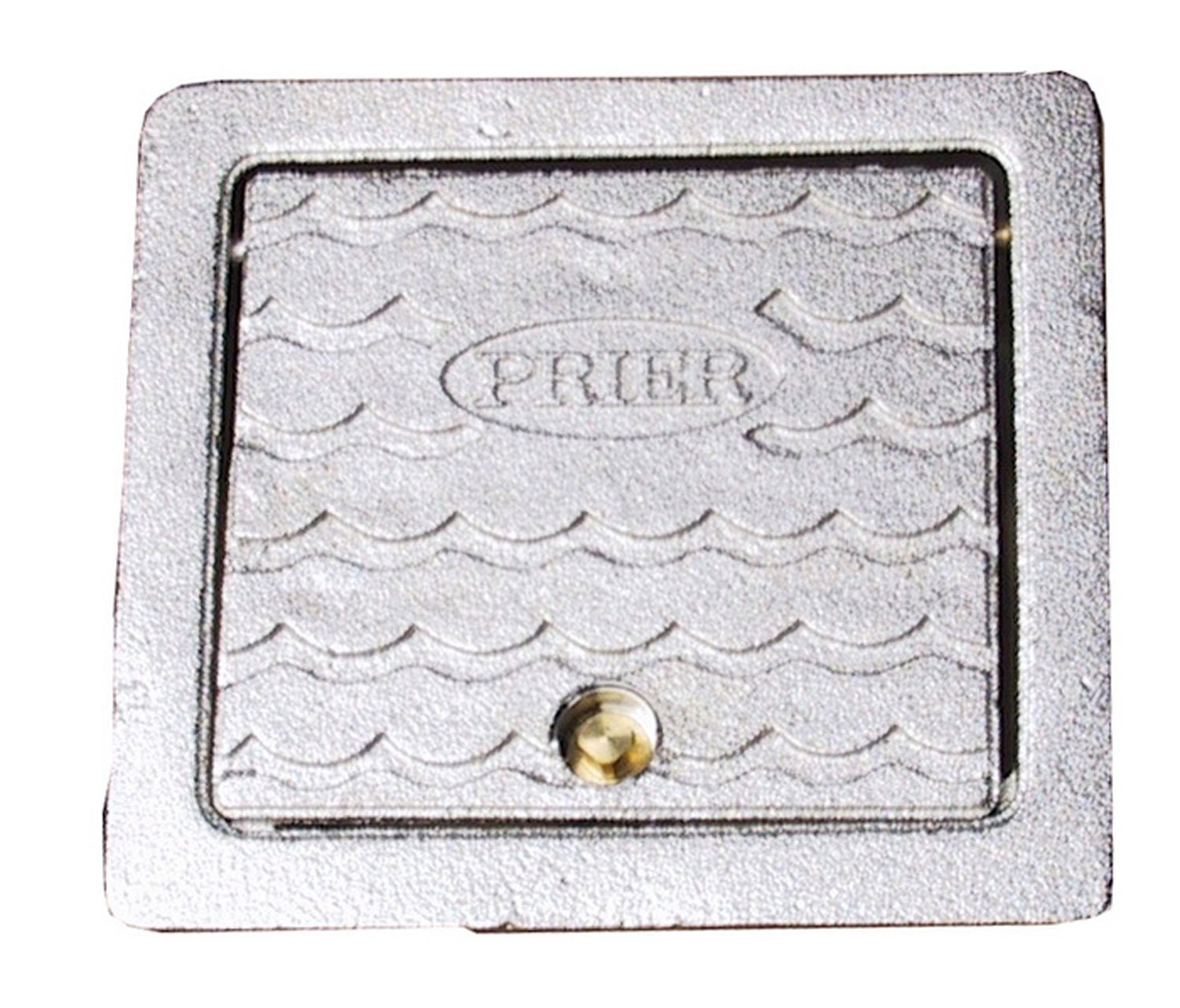 Prier C-634BX1 Brass Box for C-634 Heavy Commercial Hydrants, Satin Nickel Plated