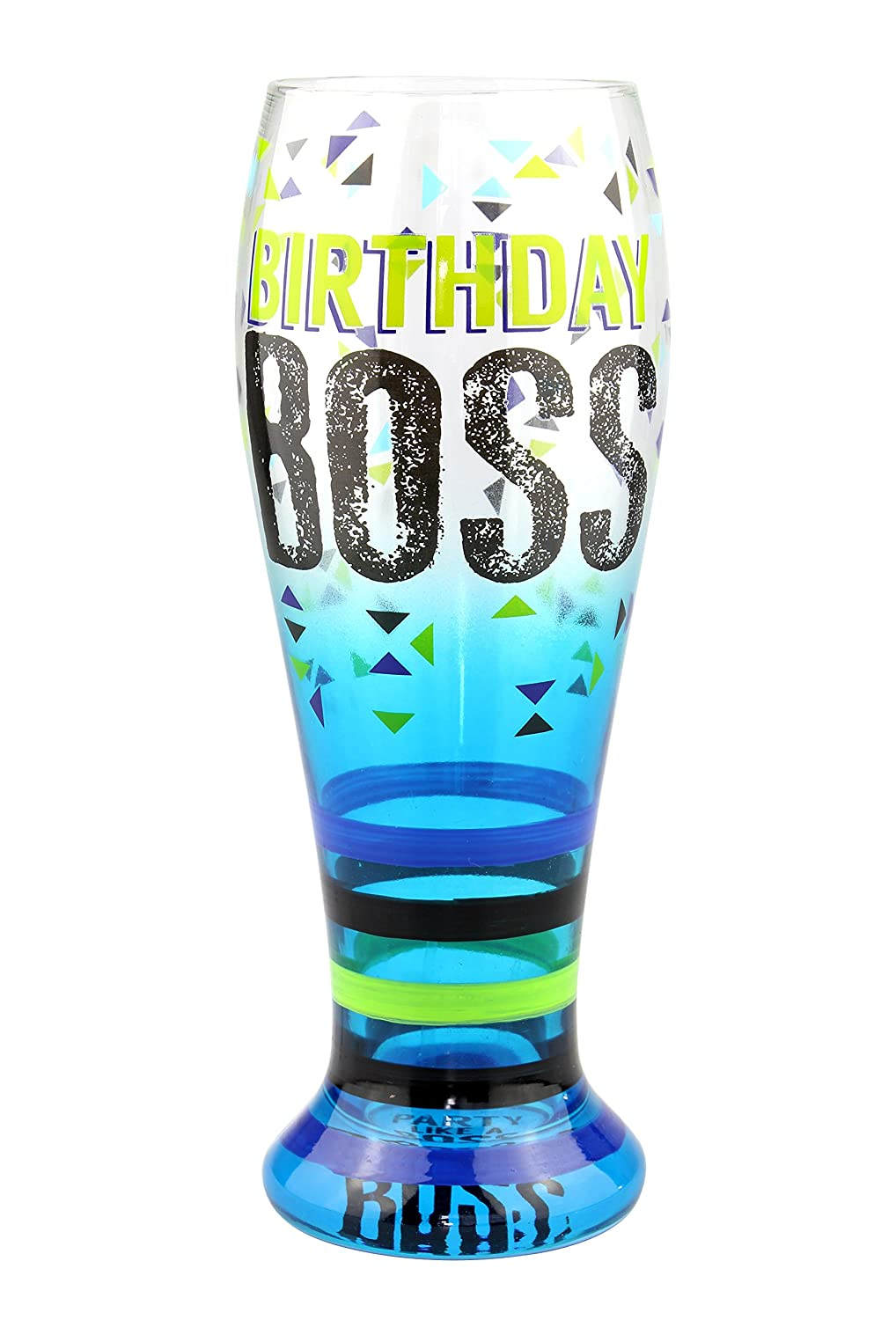 And Sister Multicolor Ts 7404c Mom Brother Top Shelf Tall Paintedbirthday Boss Pilsner Glass Decorative Beer Glasses For Friends And Family Unique Gift Ideas For Dad