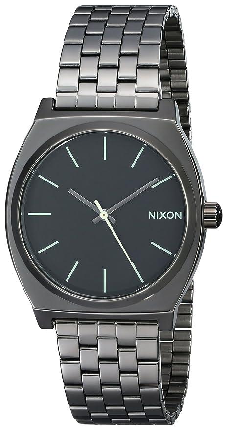 d2d65cb1c359 Nixon Reloj Analógico de Cuarzo para Hombre con Correa de Acero Inoxidable  – A0451885-00