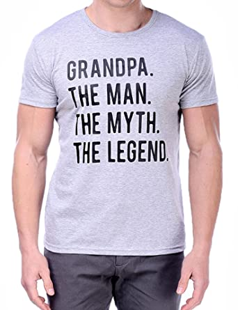 aa5e779debe Rock Sir Grandpa Is Legend Funny T Shirts MensHumor Sayings Slogans Cotton  Tee Best Gift