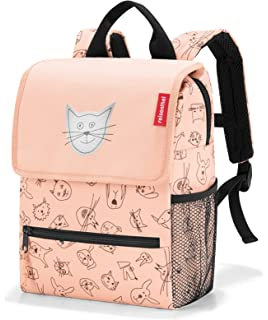 Sac à dos Reisenthel Backpack Kids Cat and dogs rose BcHoZ
