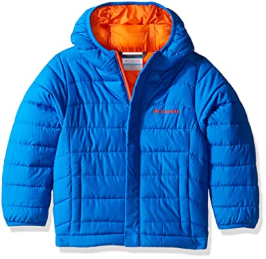 fb0ab8450 Columbia Big Boys' Powder Lite Puffer Jacket, Super Blue, X-Large