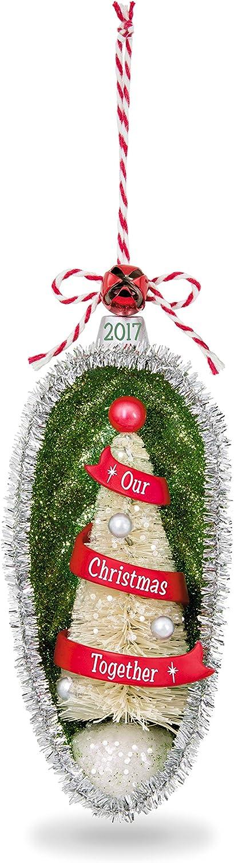 Hallmark Keepsake 2017 Our Christmas Together Festive Tree Dated Christmas Ornament