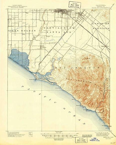 Amazon.com: YellowMaps Santa Ana CA topo map, 1:62500 Scale ... on solano beach ca map, ridgecrest ca map, n hollywood ca map, anaheim ca map, san ysidro ca map, hacienda ca map, fountain valley ca map, chicago ca map, san bernardino ca map, downey ca map, fort worth ca map, la purisima mission ca map, seal beach ca map, palm desert ca map, palo alto ca map, puente hills ca map, fresno ca map, las vegas ca map, baldwin lake ca map, newport harbor ca map,