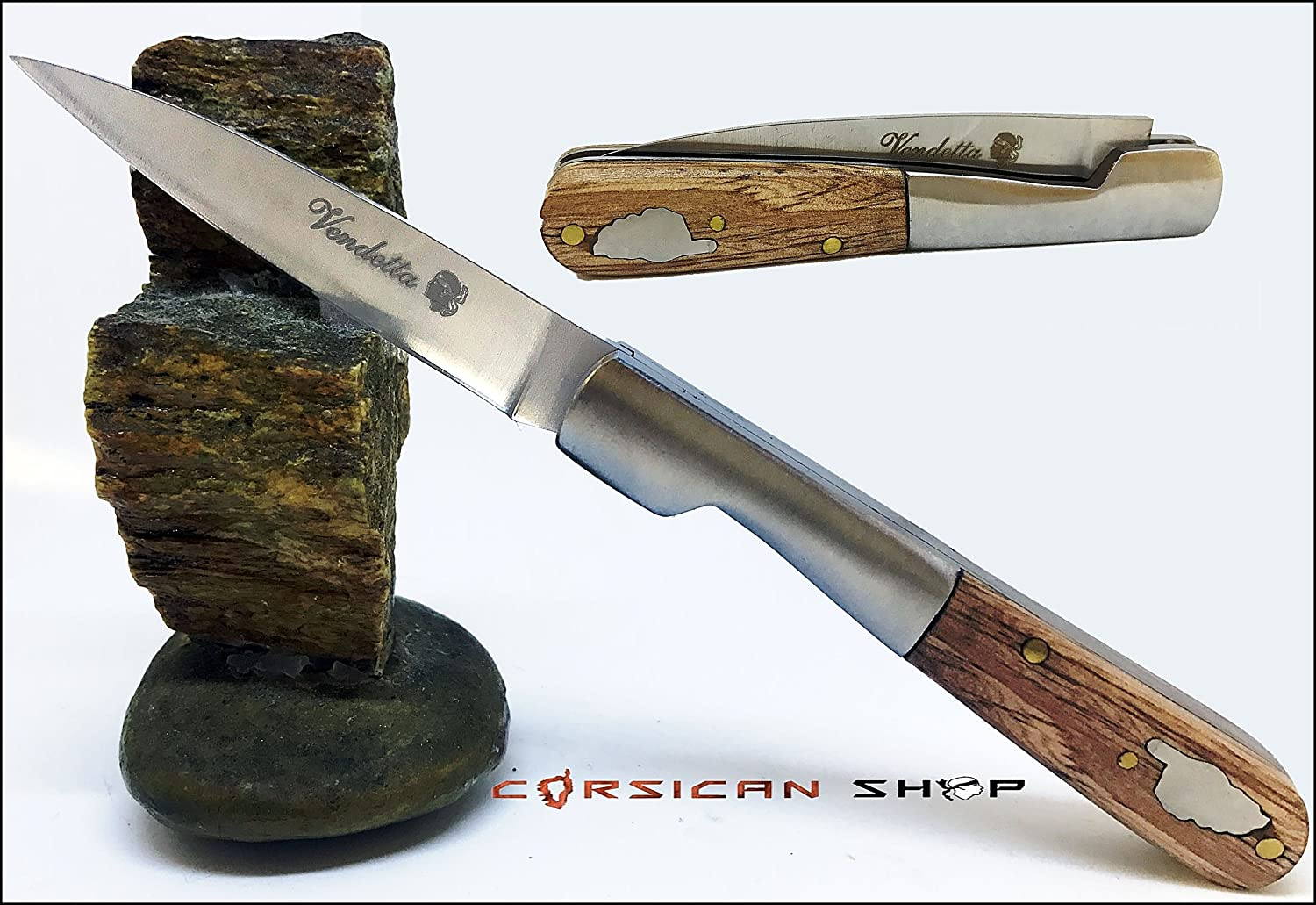 camping Ideal for hiking hunting CORSICAN KNIVE VENDETTA fishing