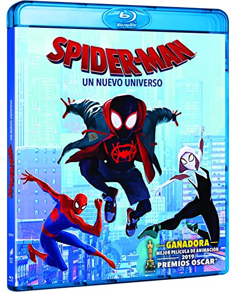 Image result for SPIDER-MAN: UN NUEVO UNIVERSO BLU RAY