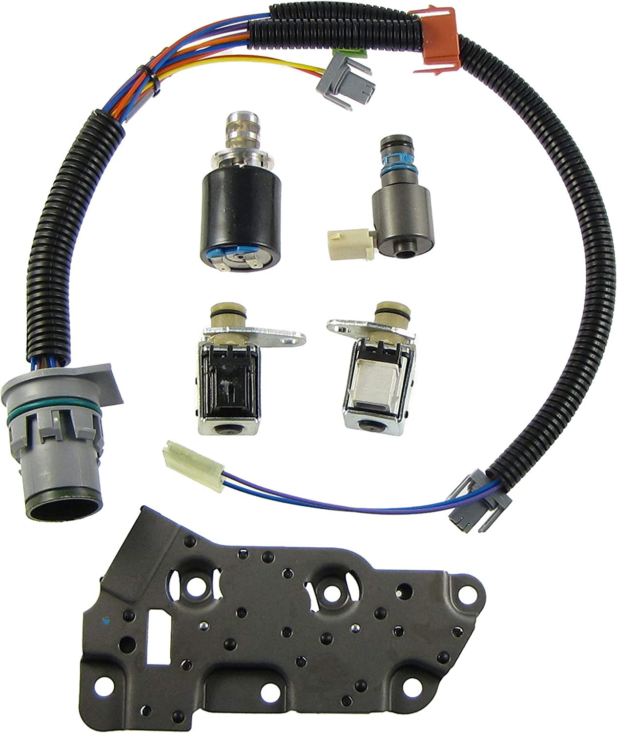amazon.com: solenoid kit 4l80e 85e shift solenoids epc tcc and wire  harness: automotive  amazon.com