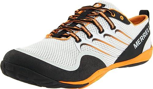 Merrell Trail Glove Zapatillas de correr para hombre, Plata (Argento/Nero/Arancione), 40 EU: Amazon.es: Zapatos y complementos
