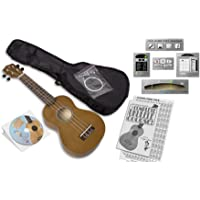 eMedia Ukulele Beginner Pack [Previous Edition] (soprano ukulele, DVD-video lessons, accessories, Win/Mac software download with ukulele tuner, ukulele chord dictionary, metronome, and recorder)