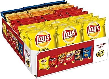 Frito-Lay Variety Pack, Classic Mix, 30 pack- 51.5 oz: Amazon.es: Alimentación y bebidas
