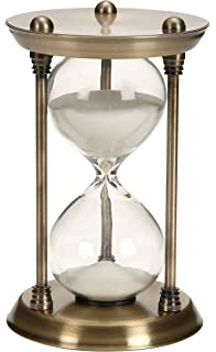 amazon com lily s home 60 minute hourglass sand timer with cherry