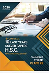 10 Last Years Solved Papers (HSC) - Commerce: Maharashtra Board Class 12 for 2020 Examination Kindle Edition