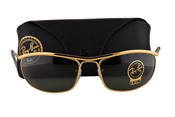 eeaf0b3975 Image Unavailable. Image not available for. Color  Ray Ban RB3119 Olympian  Sunglasses ...