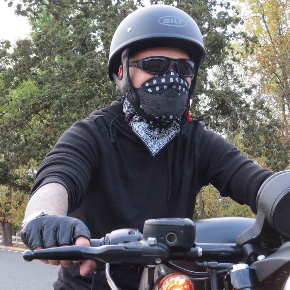 Half Face Mask Bandana Motorcycle Cycling Cold Winter